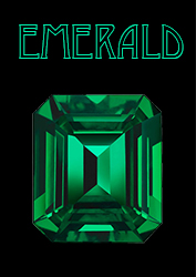 Emerald Poster